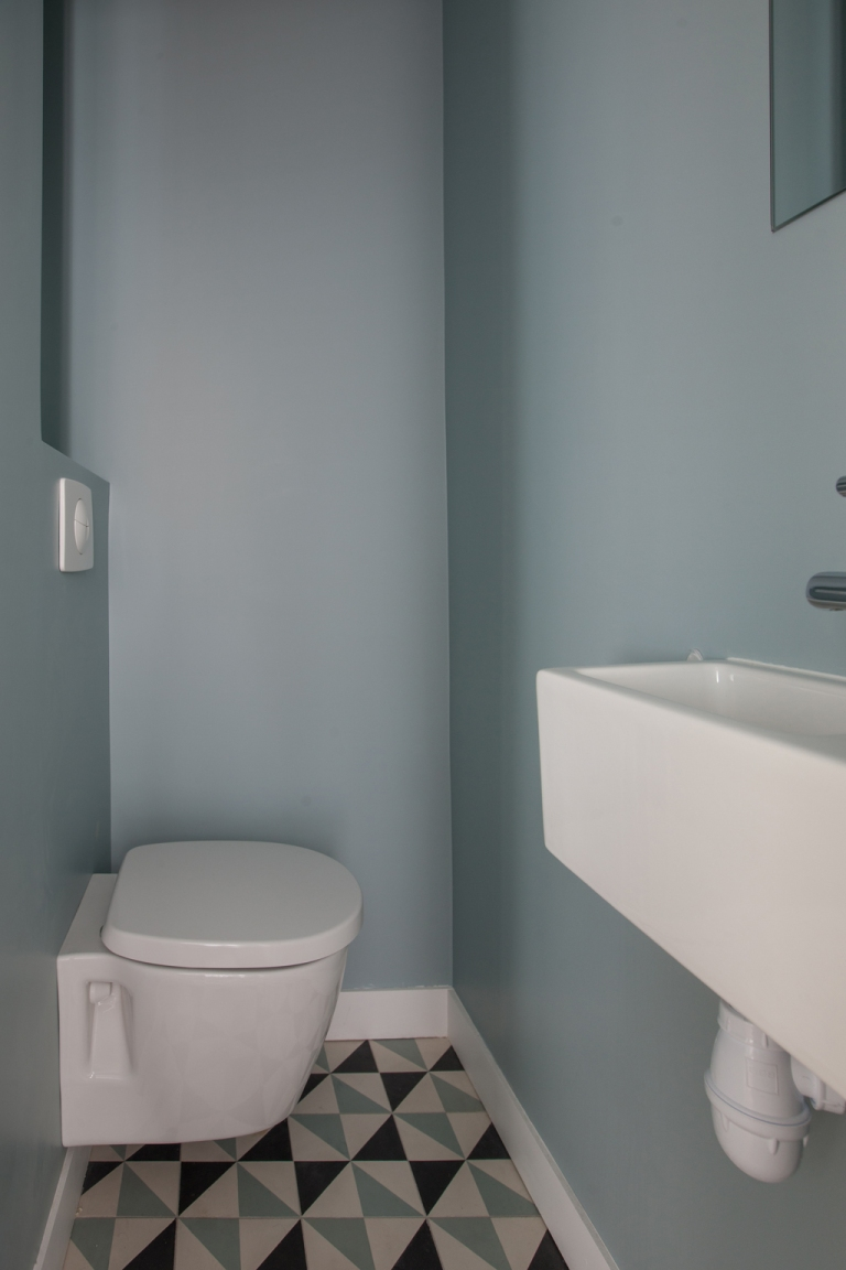 Toilettes China blue LITTLE GREEN